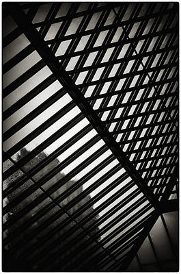 Photograph - Barbican Grids by Lenny Carter
