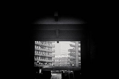 Photograph - Barbican Peek by Lenny Carter