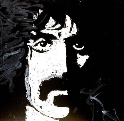 Painting - Barbosa Paints Zappa Again by Neal Barbosa