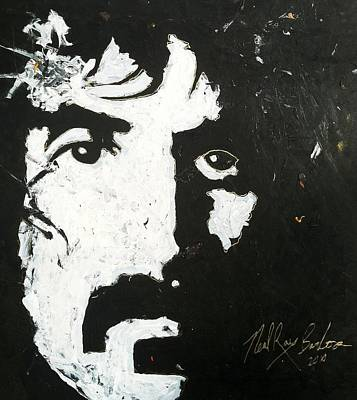Frank Zappa Painting - Barbosa Paints Zappa by Neal Barbosa