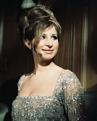 Barbra Streisand Photograph - Barbra Streisand In Funny Girl  by Silver Screen