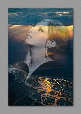 Barbra's Vision Art Print by Richard Laeton