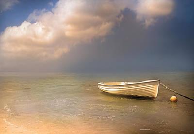 Barca De Marisqueo Art Print