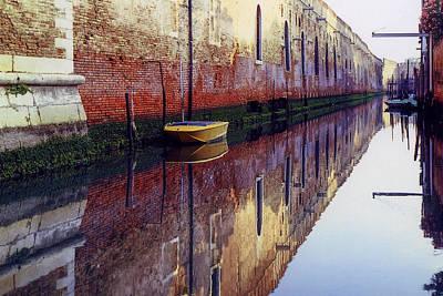 Photograph - Barca Gialla by Martin Longstaff