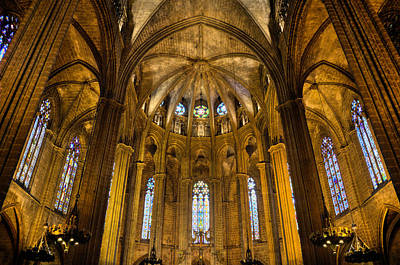 Photograph - Barcelona Cathedral by Jack Daulton