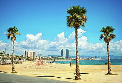 Photograph - Barcelona Coastline by Nikada