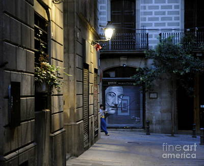 Photograph - Barcelona Graffiti by Louise Fahy