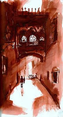 Barcelona Impression Original by Karina Plachetka