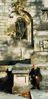 Barcelona Digital Art - Barcelona Old Man by Yury Malkov