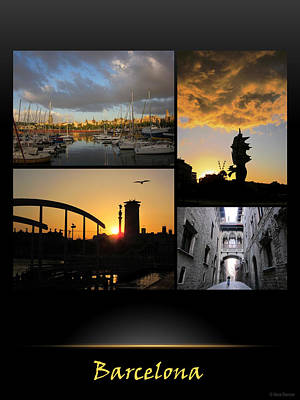Photograph - Barcelona Poster 1 by Nina Donner