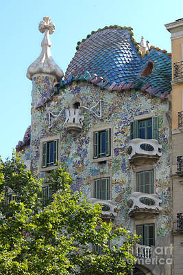 Barcelona Spain Art Print by Gregory Dyer