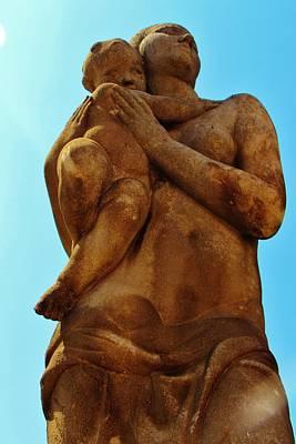 Pasta Al Dente - Barcelona Statue by Christopher Hoffman