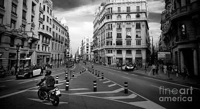 Photograph - Barcelona Street View by RicharD Murphy