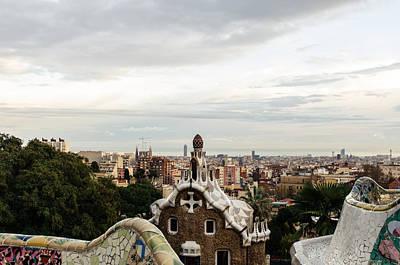 Photograph - Barcelona - Urban Landscape by Andrea Mazzocchetti
