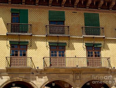 Photograph - Barcelona Windows by Haleh Mahbod