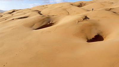 Moroccan Photograph - Barchan Dunes by Thierry Berrod, Mona Lisa Production
