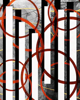 Digital Art - Barcode by Shawna Rowe