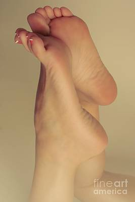 Photograph - Bare Foot Beauty by Tos