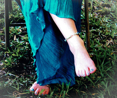 Photograph - Barefoot by Christy Usilton