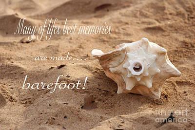 Photograph - Barefoot Memories by Dani Abbott