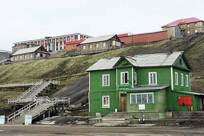 Barentsburg Art Print by Dr P. Marazzi/science Photo Library