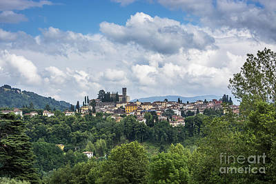 Barga Art Print by Tony Priestley