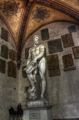 Photograph -  Giambologna's Oceano by Michael Kirk