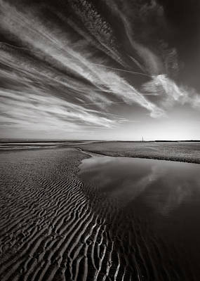 North Wales Photograph - Barkby Beach 1 by Dave Bowman