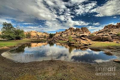 Photograph - Barker Dam Lake by Adam Jewell
