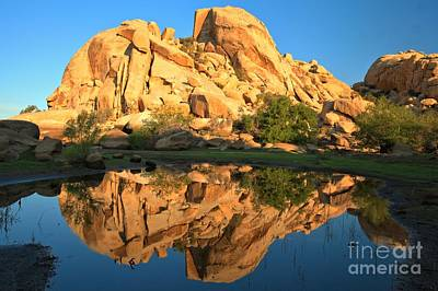 Barker Dam Pond Reflections Art Print