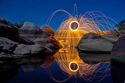 Photograph - Barker Dam by Tassanee Angiolillo
