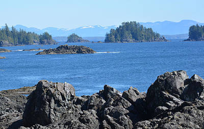 Photograph - Barkley Sound And The Broken Island Group Ucluelet Bc by Lawrence Christopher