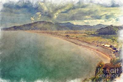 Barmouth Bay Art Print