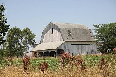 Photograph - Barn 0081 by Kathy Cornett