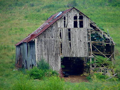 Photograph - Barn 1 by Lew Davis