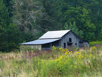 Photograph - Barn 2 by Lew Davis