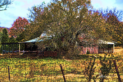 Manipulation Photograph - Barn 36a by EricaMaxine  Price