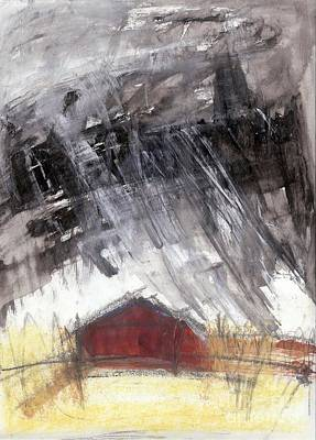 Painting - Barn by A K Dayton