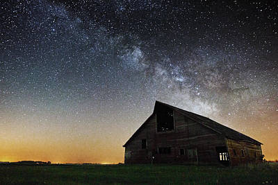 Photograph - Barn by Aaron J Groen