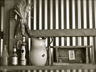 Photograph - Barn Altar by Kim Pippinger