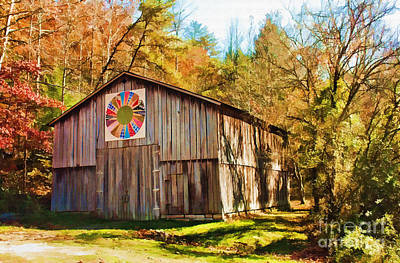 Photograph - Barn At Red River Gorge by Lena Auxier