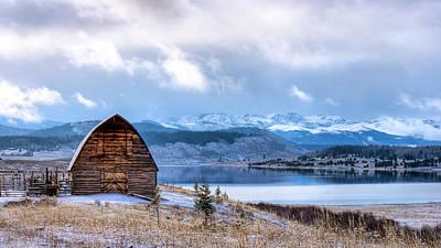 Photograph - Barn At The Lake by John McArthur