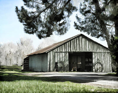 Photograph - Barn At Vina Winery by Kathleen Gauthier