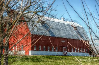 Photograph - Barn Beautiful by Peggy Franz