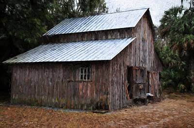 Photograph - Barn by Bill Howard
