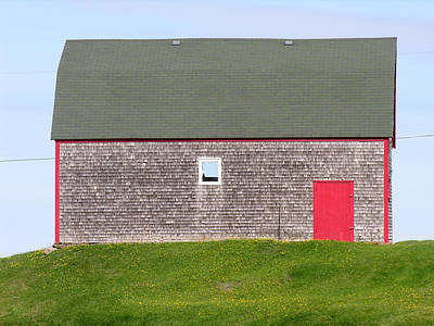 Photograph - Barn Cape Breton Island by Robert Lozen