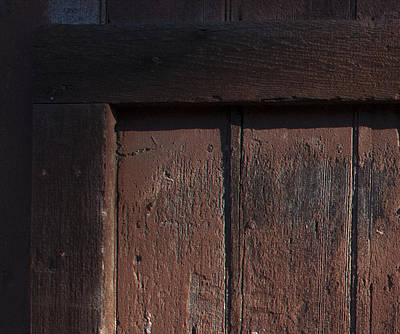 Photograph - Barn Door by Derek Dean