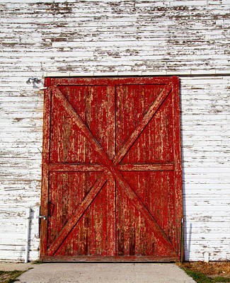 Photograph - Barn Door by Fran Riley