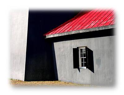 Photograph - Barn Door In Tybee Island by Jacqueline M Lewis