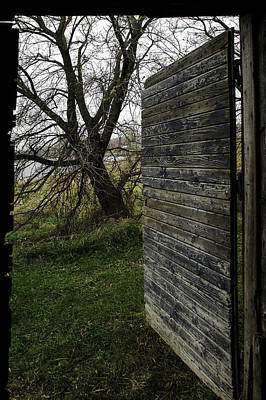 Photograph - Barn Door No. 1 by Curtis Dale